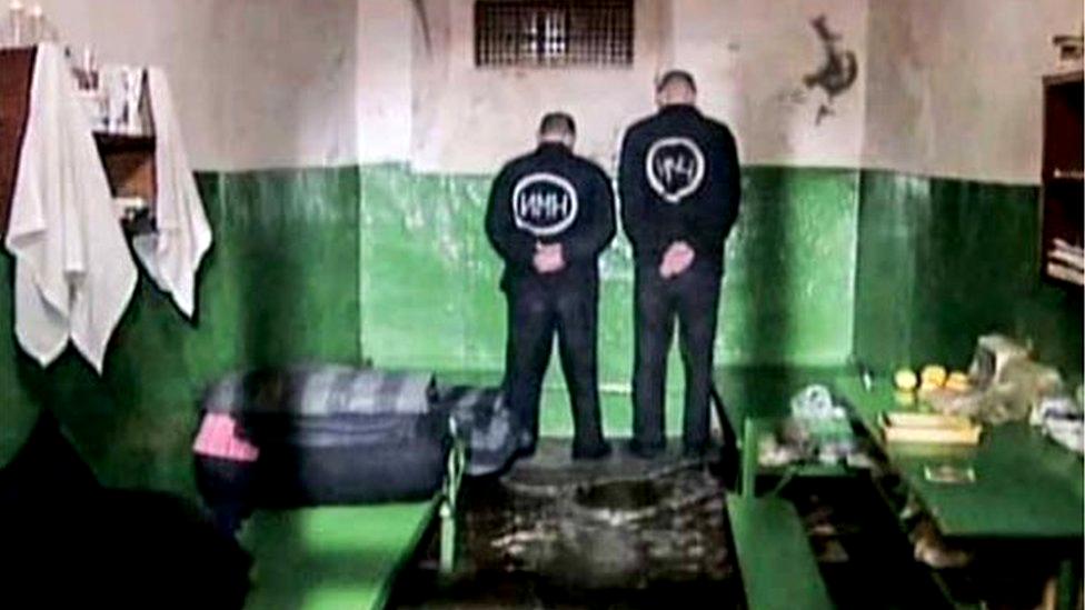 Zatvorska ćelija u Minsku, 2006.