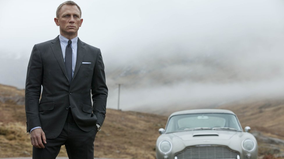 Daniel Craig as 007 in Skyfall