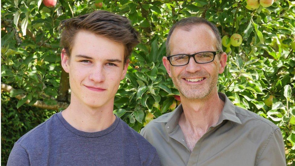 Ethan and Stuart Askew