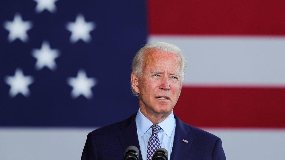 拜登在賓夕法尼亞州鄧莫爾市一場競選集會上演說(9/7/2020)