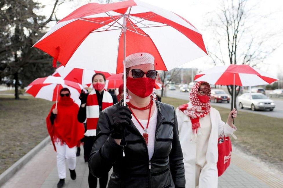 Minsk umbrella protest, 6 Apr 21