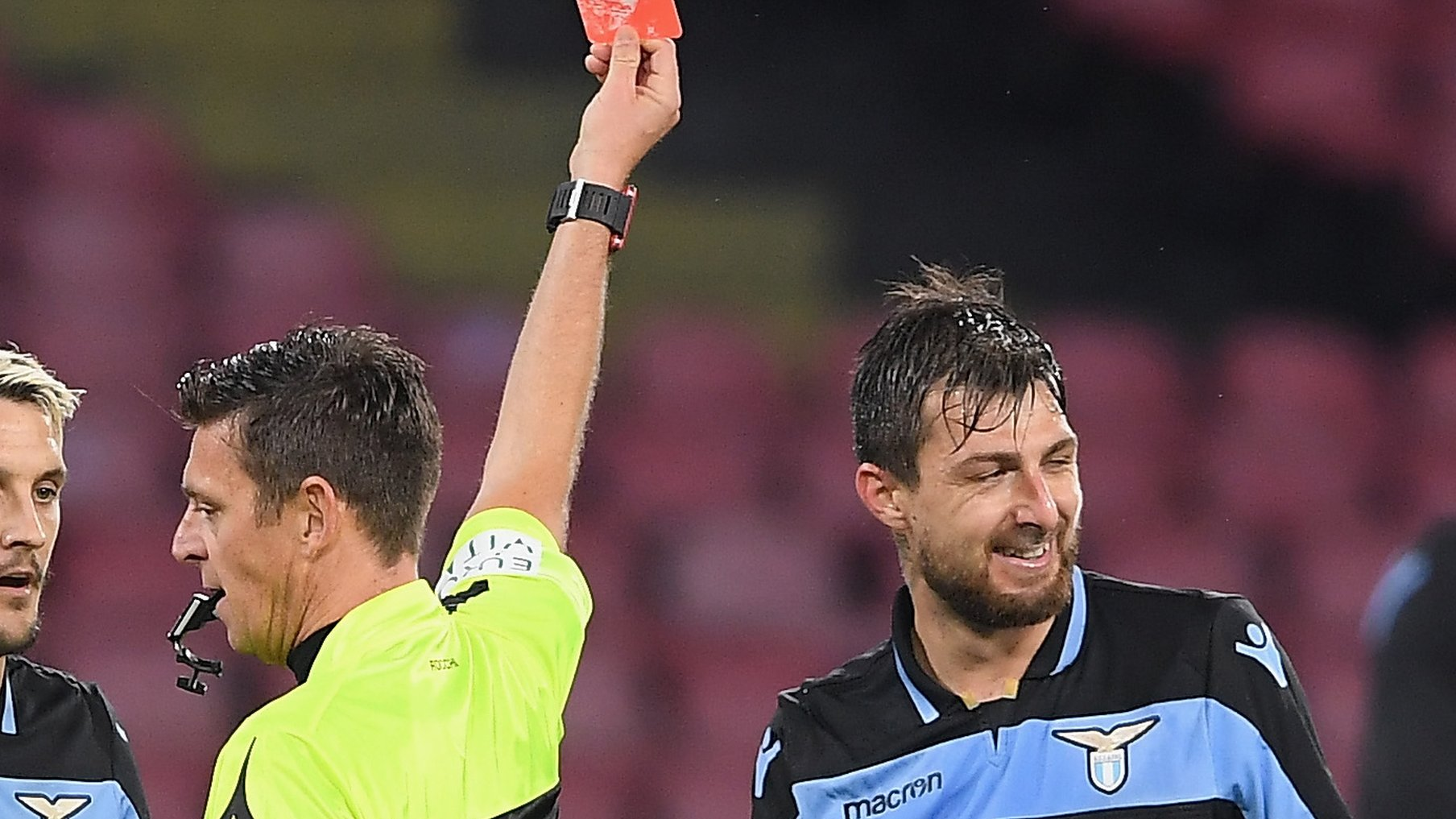 Francesco Acerbi: 149 and out - Lazio defender's Serie A record hopes dashed by red card