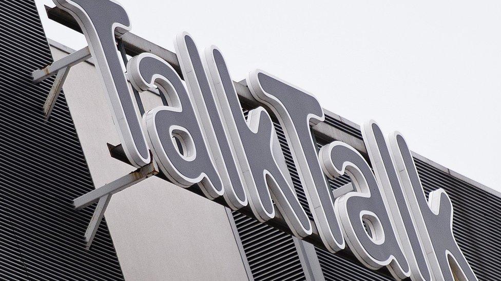 TalkTalk logo - generic image