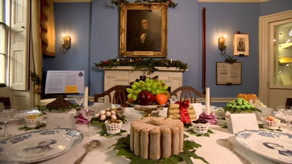 The importance of food in the work of Charles Dickens
