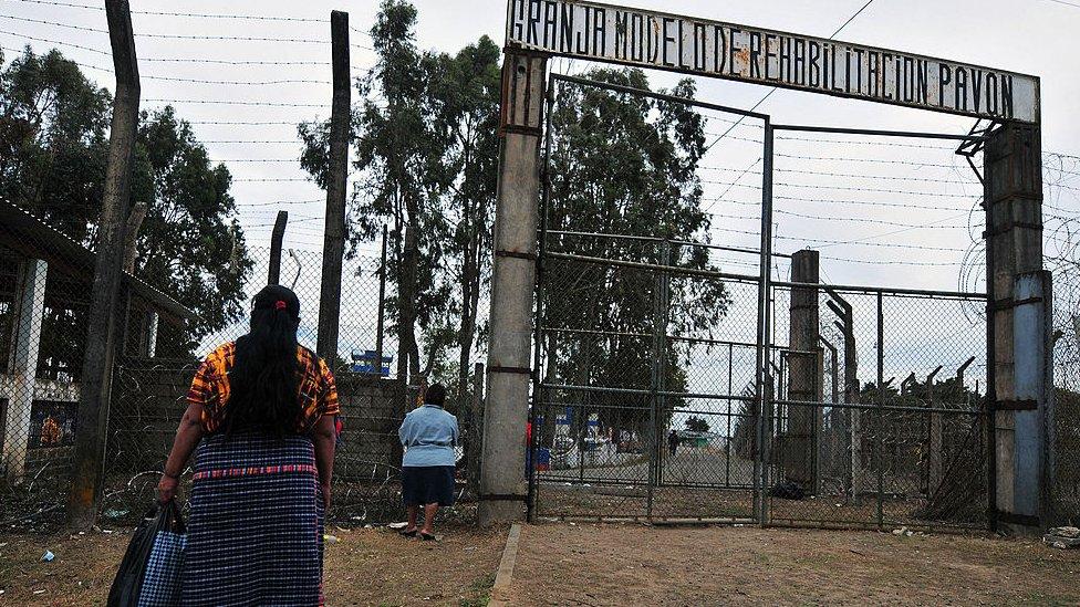 Cárcel de Pavón, Guatemala
