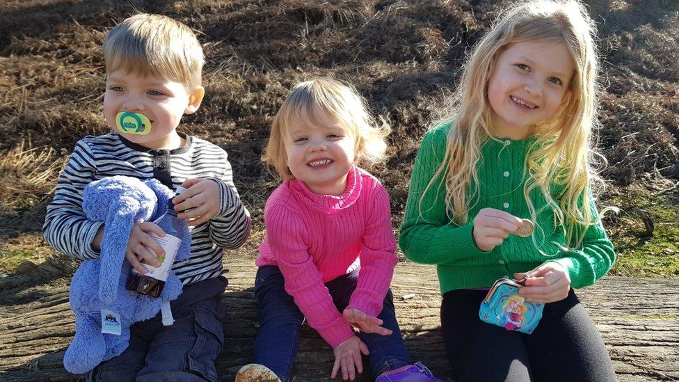 Ashley's three children