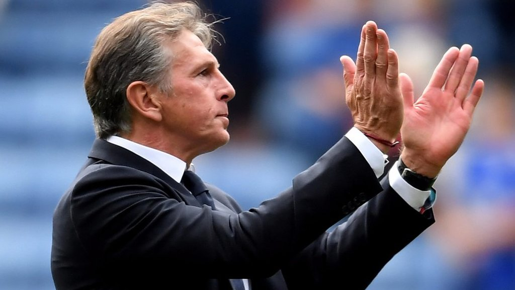 Leicester 2-0 Wolves: Claude Puel praises Foxes' 'mentality' and 'attitude'