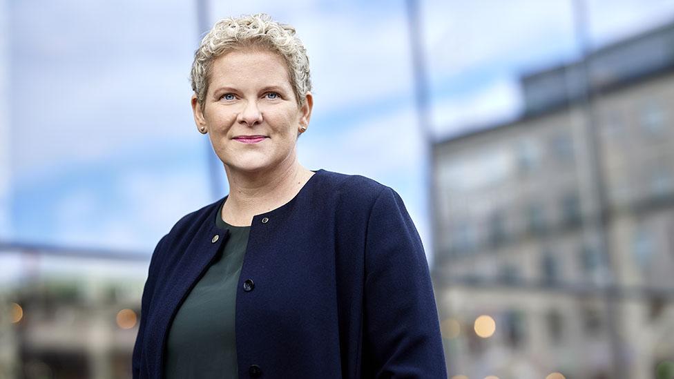 Politician Karin Wanngård