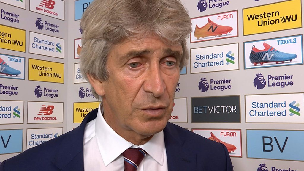 Liverpool 4-0 West Ham: Manuel Pellegrini says Hammers must stay positive