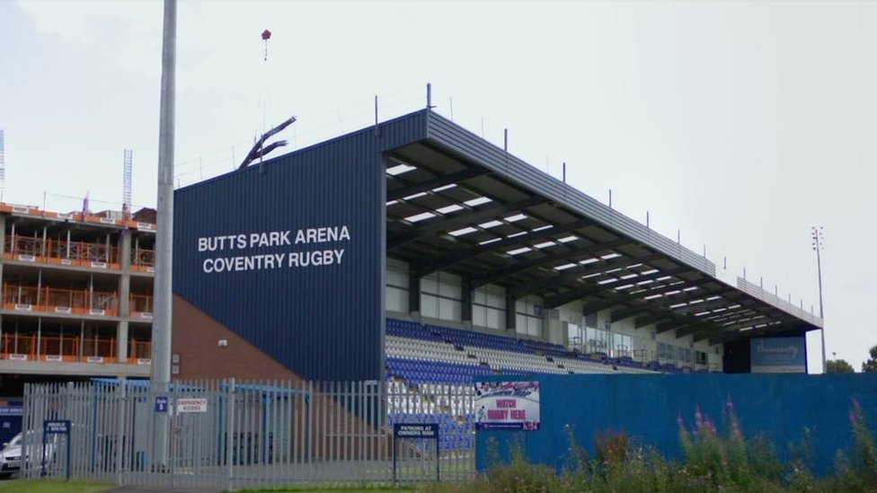 Butts Park Arena - Coventry United home ground