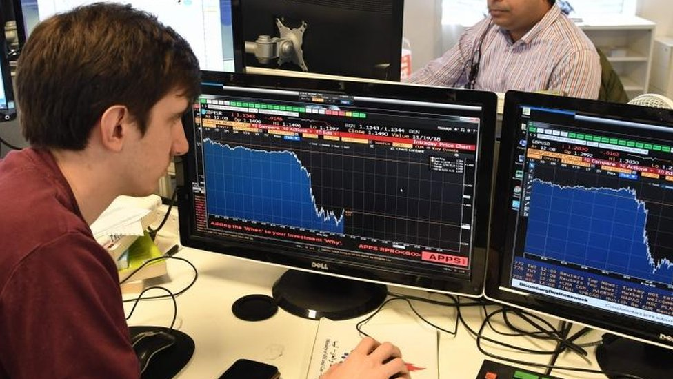Pound and UK shares hit by Brexit turmoil