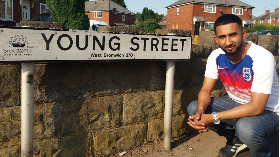 The football streets of England