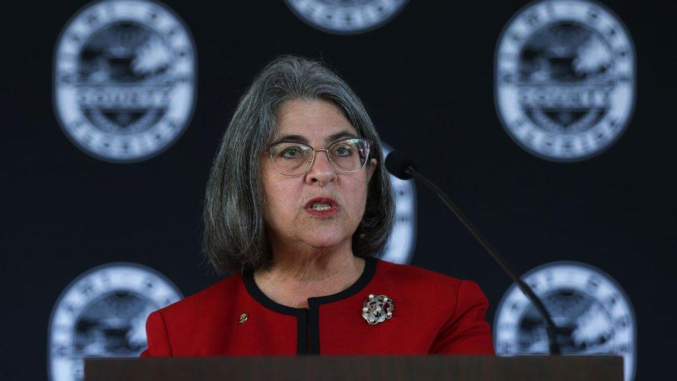 La alcaldesa de Miami-Dade, Daniella Levine Cava
