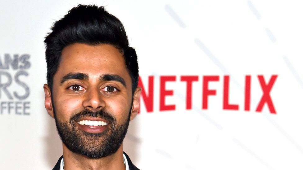 Comedian Hasan Minhaj at Classic Car Club Manhattan on June 25, 2018