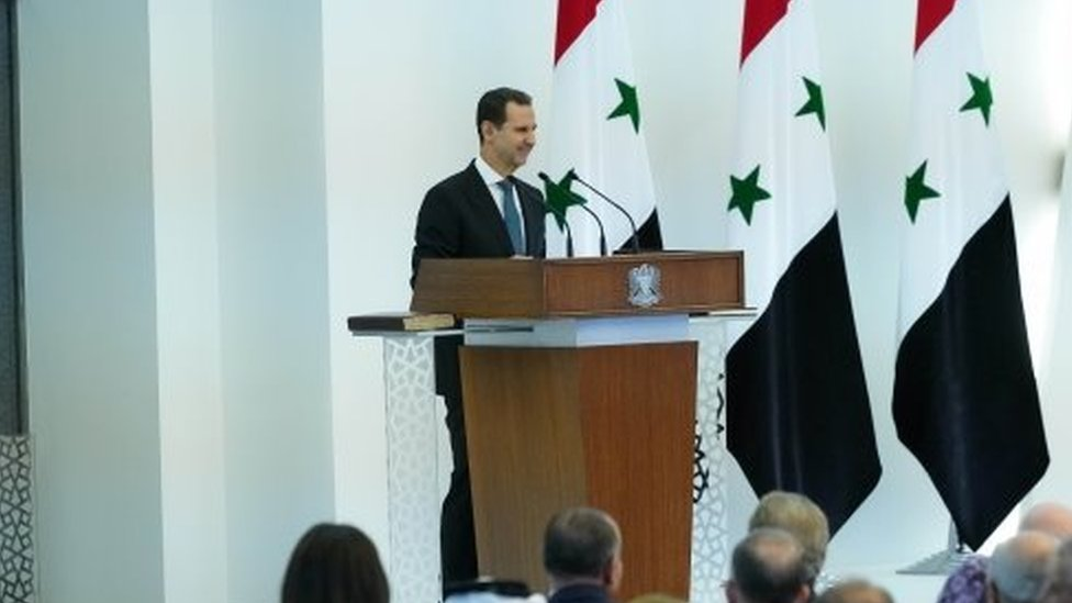 Suriye lideri Esad