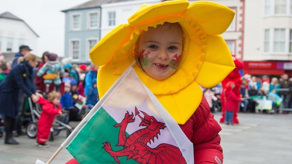 Gwenu dros Gymru: Gŵyl Ddewi yng Nghaernarfon
