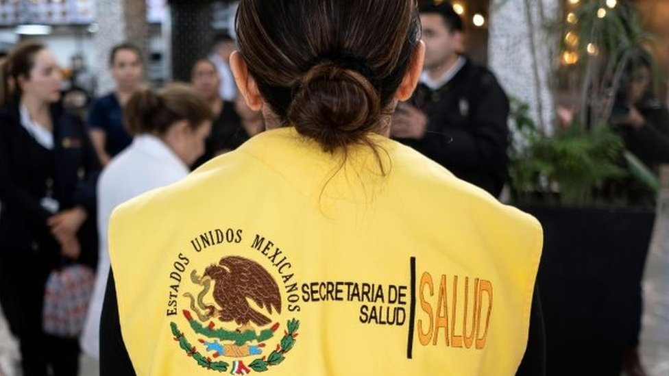 Funcionaria de salud de México
