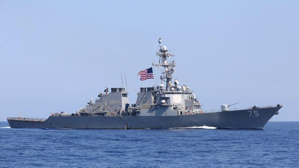 СМИ: США передумали направлять корабли в Черное море, чтобы не  провоцировать Россию - BBC News Русская служба
