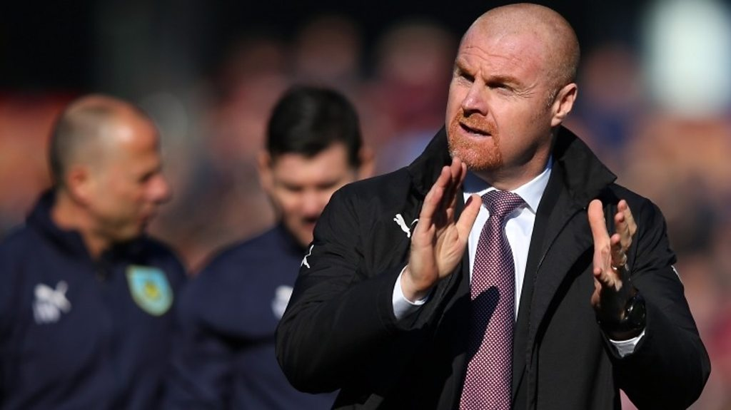 Burnley 2-1 Tottenham: Sean Dyche says 'thorough' performance lead to 'deserved' win