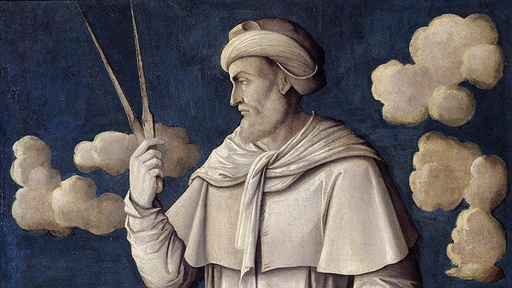 Euclides pintado por Girolamo Mocetto