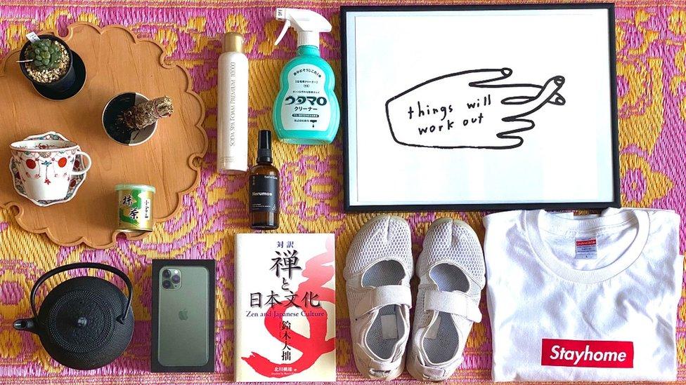 Lockdown essentials by Rina Goto, Japan