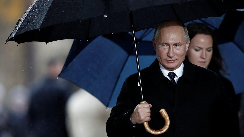 Putin in Paris