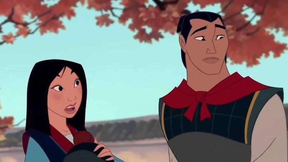 Mulan Disney Drop Character Following Metoo Movement Bbc News
