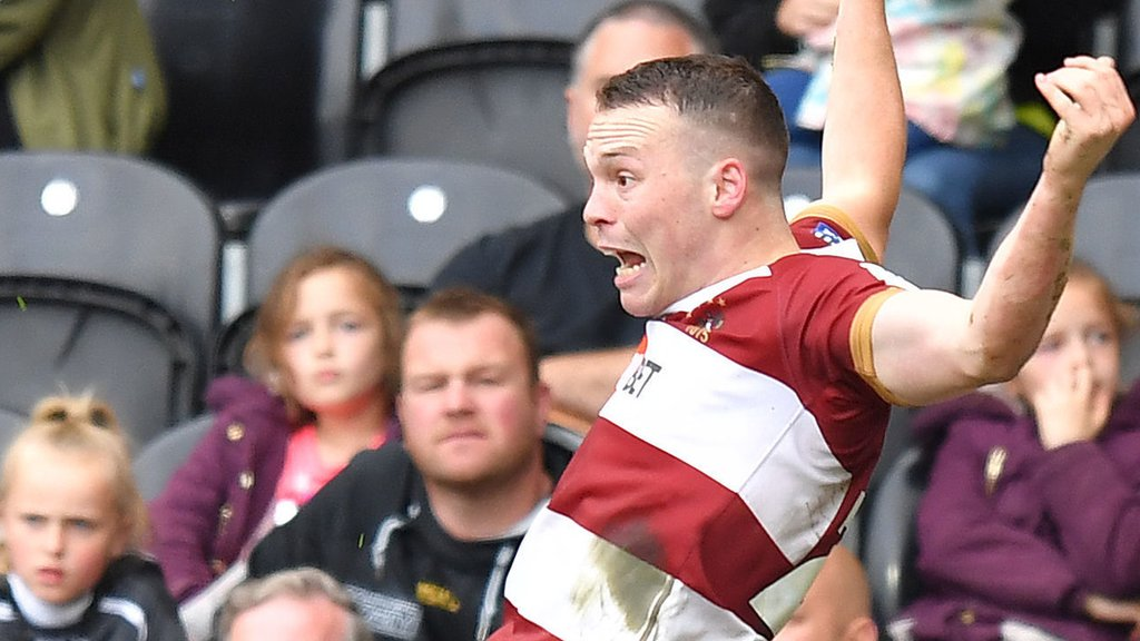 Super League: Hull FC 10-14 Wigan Warriors