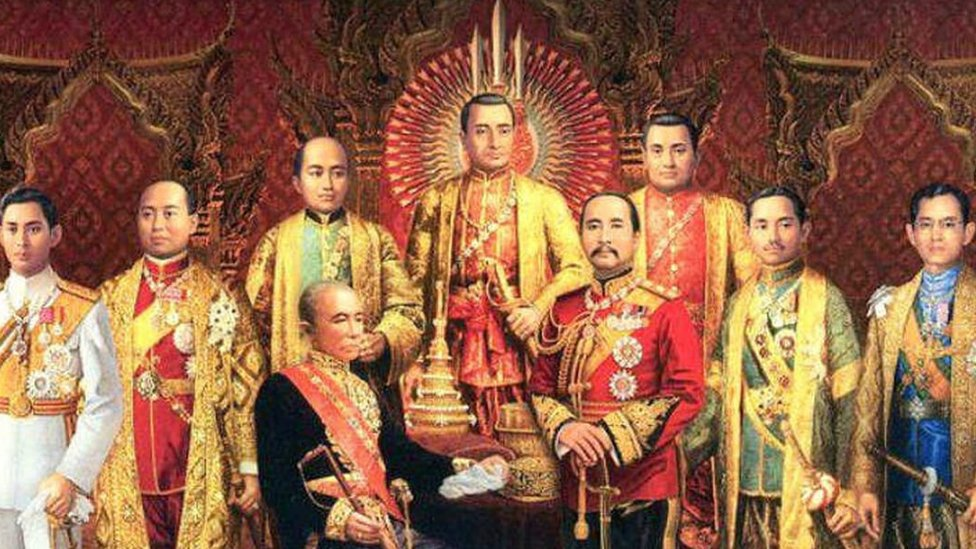 All the kings in the Chakri dynasty