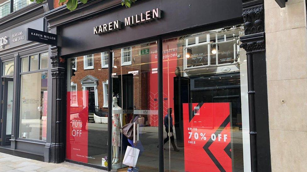 Karen Millen store in Manchester