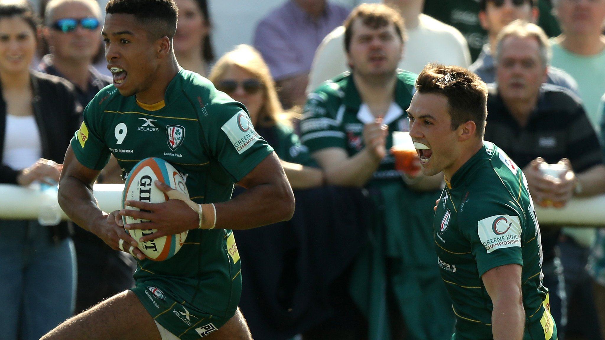 London Irish: Club secure Championship title and promotion with win at Richmond