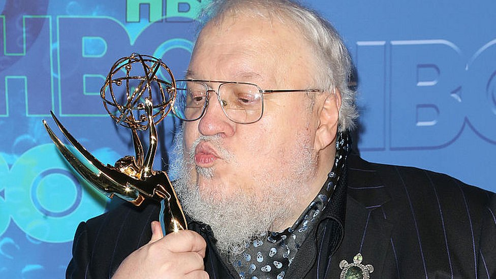 George RR Martin attends HBO's Official 2016 Emmy After Party on September 18, 2016 in Los Angeles, California