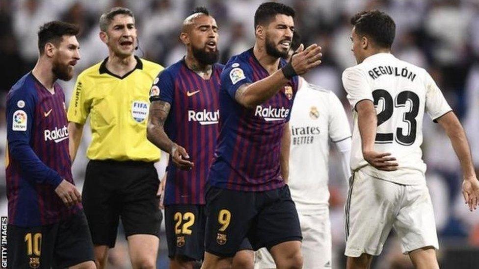 تأجيل مباراة الكلاسيكو بين ريال مدرير وبرشلونة