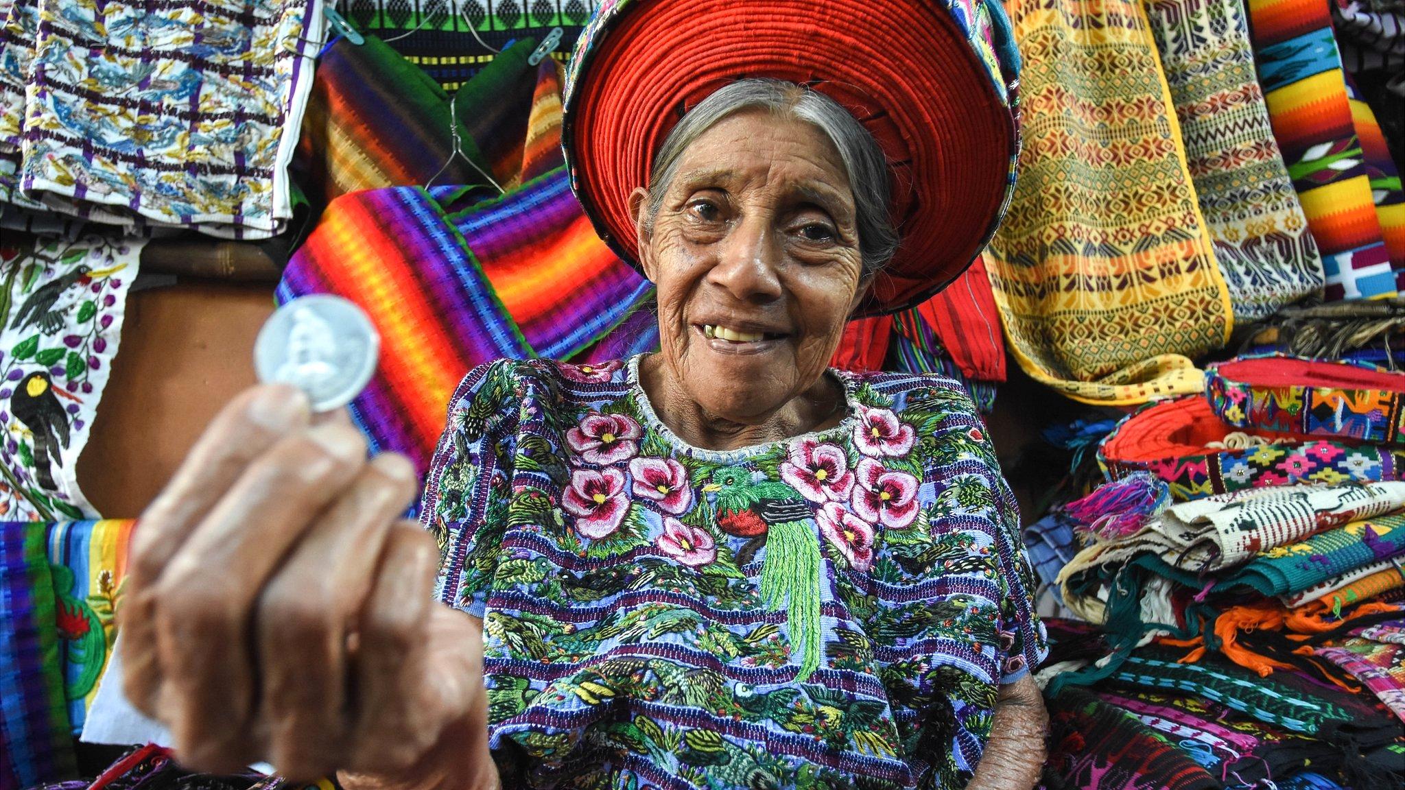 Mujer maya en Guatemala