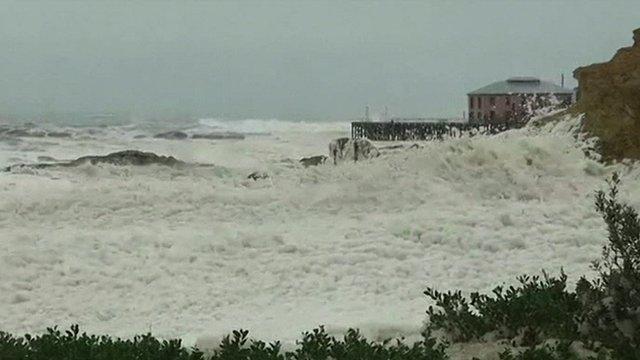 Storms in Australia