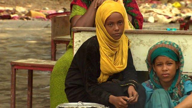 Children in Aden