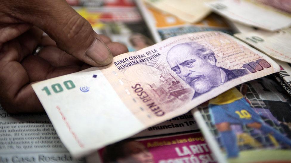 El dinero cada vez vale menos en Argentina.