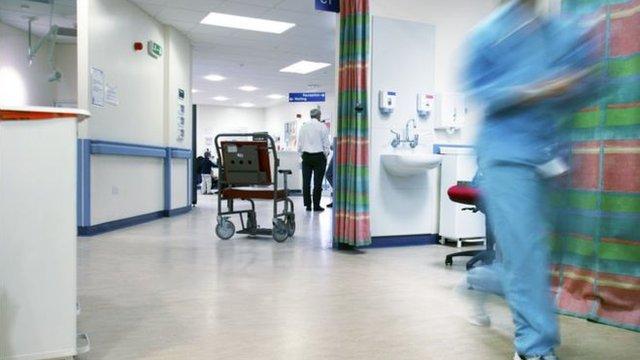 جناح أحد المستشفيات