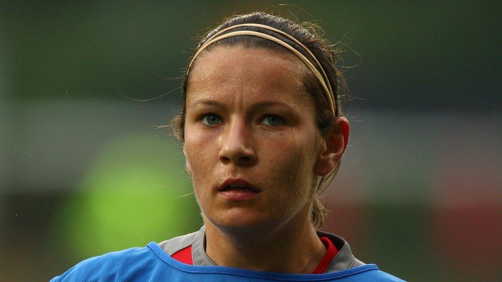 Blues Ladies defender Westwood retires