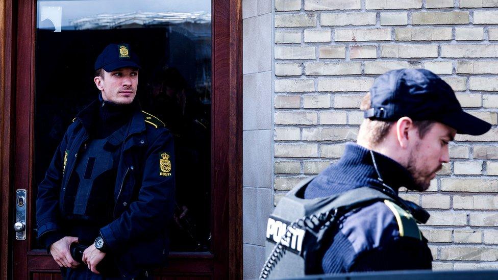 Danish police in Copenhagen, 2016 file pic