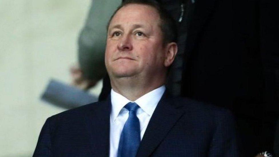 مايك آشلي مالك نادي نيوكاسل يونايتد