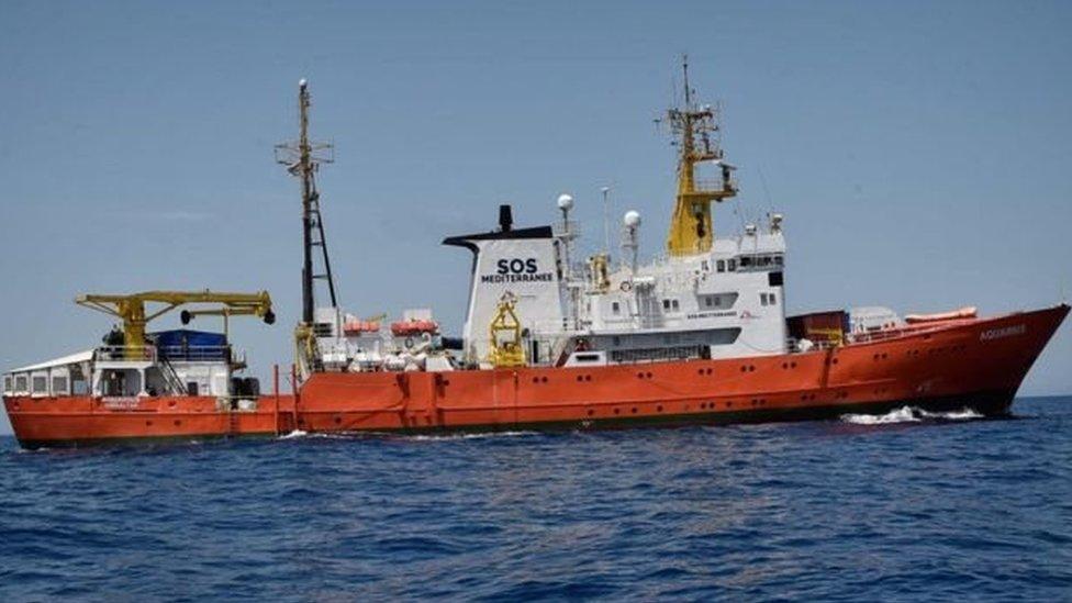 Aquarius gemisi