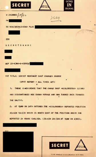 Un informe del GCHQ