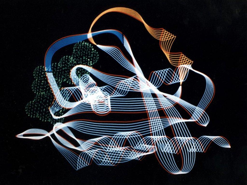 Una estructura proteica