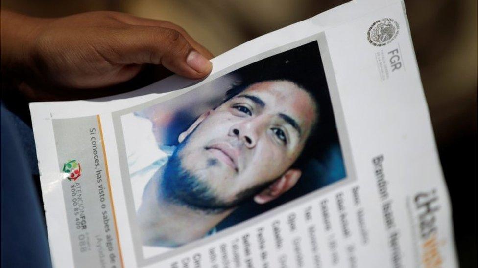 Foto del desaparecido Isaac Hernández