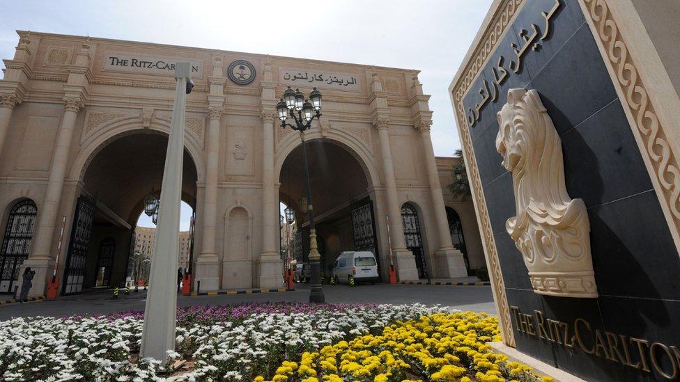 The Ritz Carlton in Riyadh on 11 Feb