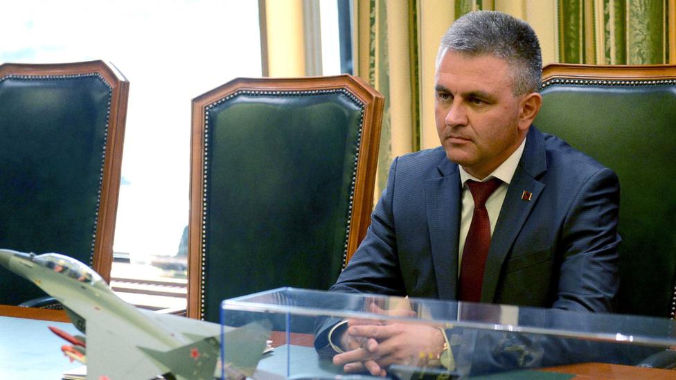 Trans-Dniester President Vadim Krasnoselsky