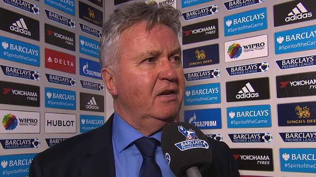 Chelsea interim manager Guus Hiddink