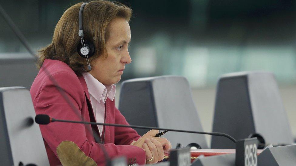 German MEP Beatrix von Storch - file pic