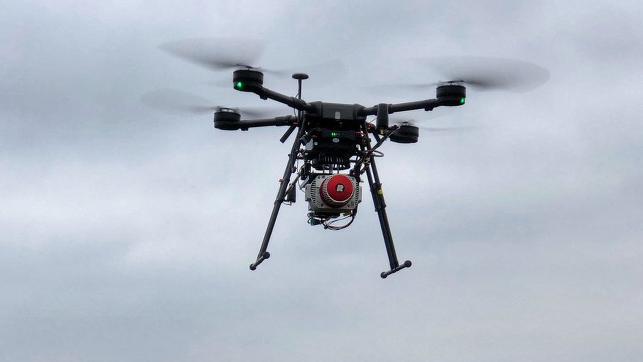 Laser drones protect Scottish forests